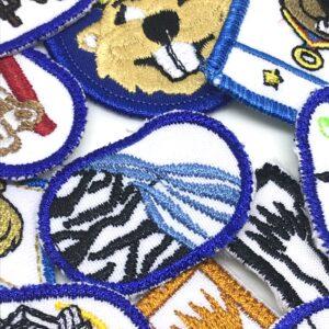 3000 - Castorisme - Insignes et badges distinctifs